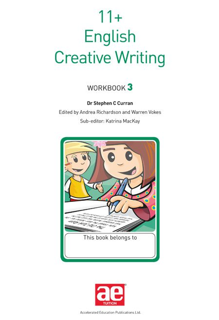 creative writing workbook online