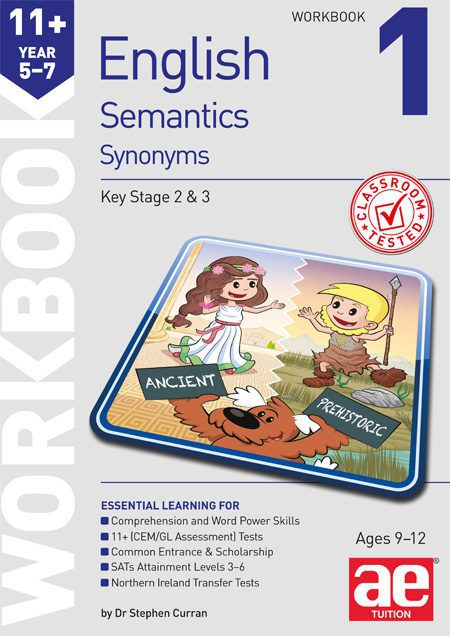 KS2 Semantics Year 5/6 Workbook 1 - Synonyms - AE Publications
