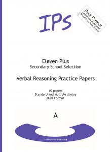 11 Plus Verbal Reasoning - Set A - 10 shorter practice papers (DF)