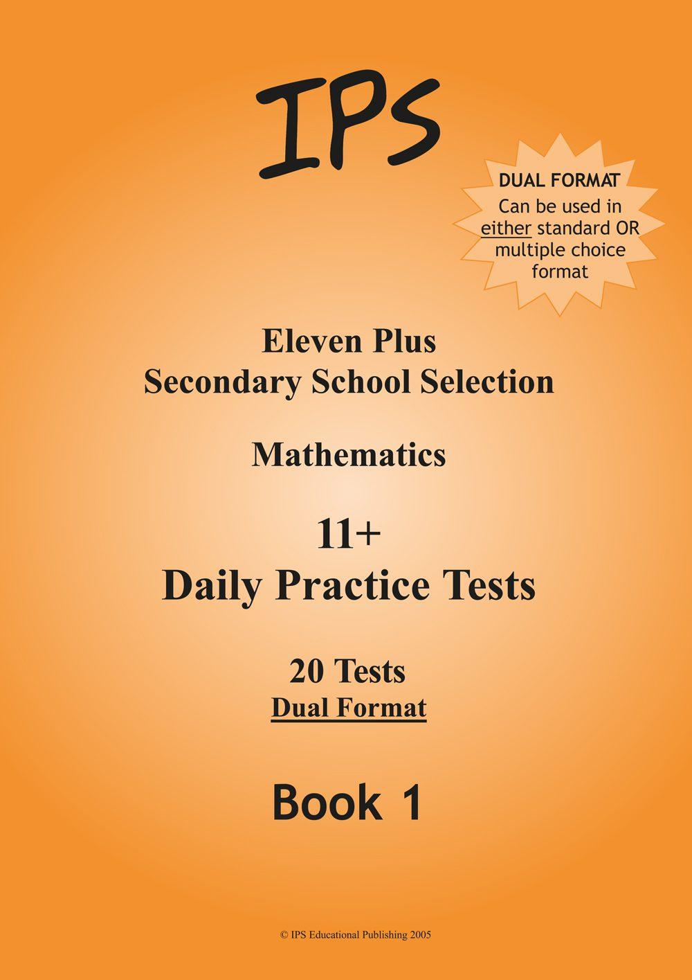 11 Plus Mathematics - Daily Practice Tests 1