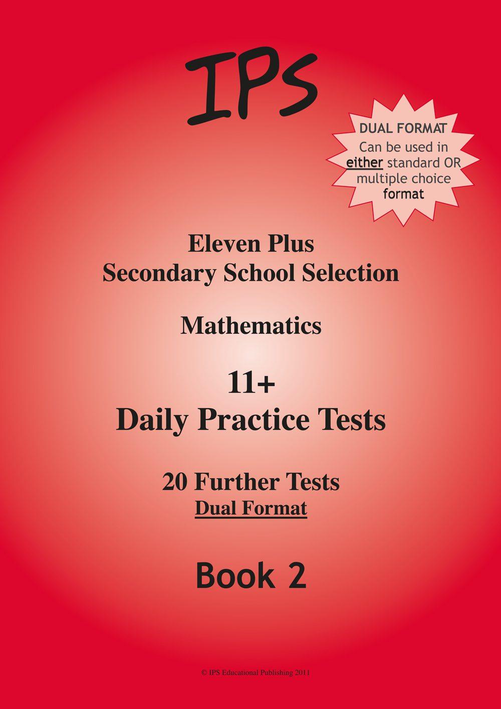 11 Plus Mathematics - Daily Practice Tests 2