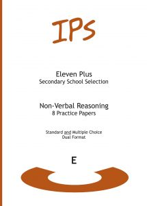 11 Plus Non-Verbal Reasoning - Set E - 8 shorter practice papers (DF)