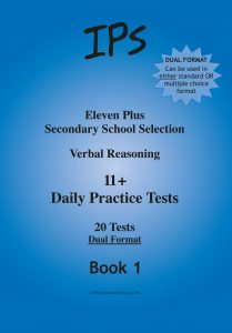 11 Plus Verbal Reasoning - Daily Practice Tests 1