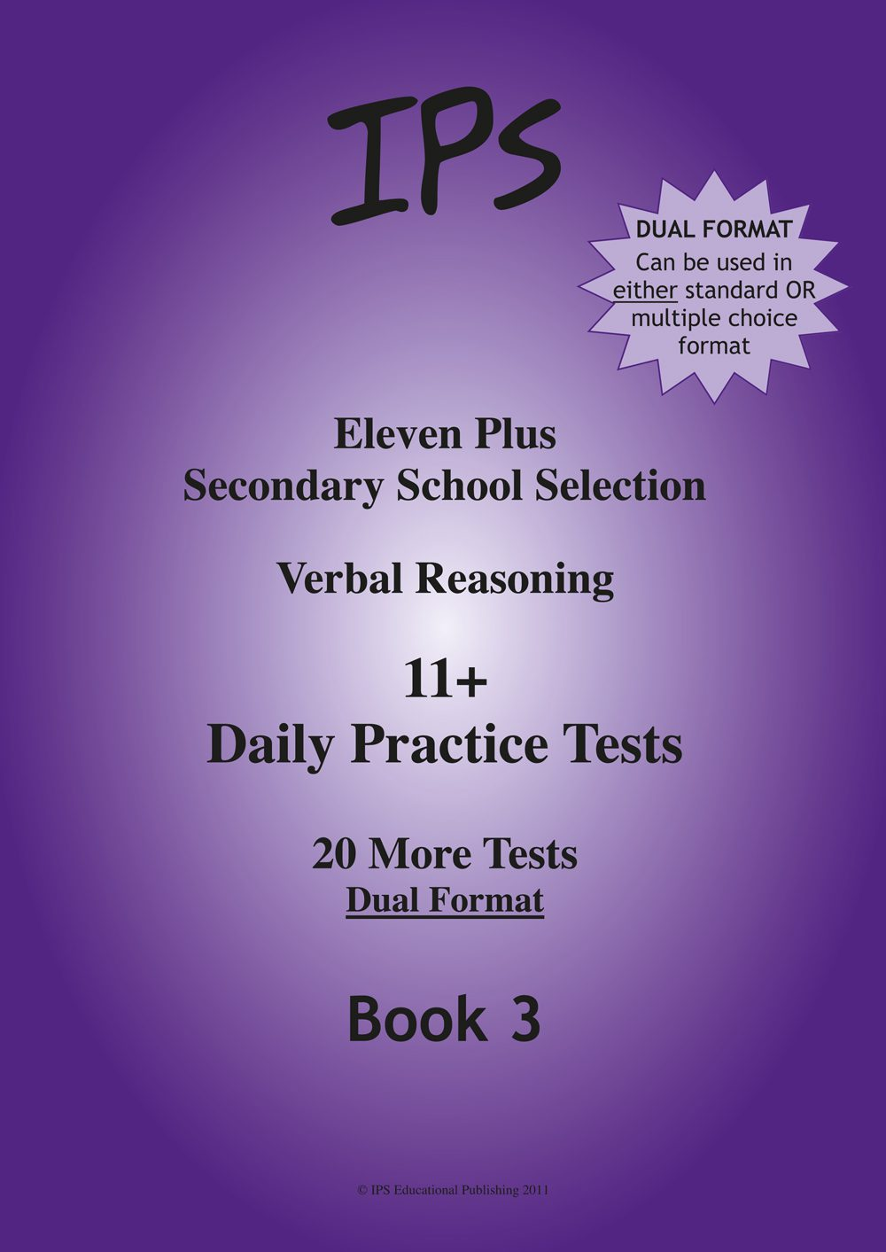 11 Plus Verbal Reasoning - Daily Practice Tests 3