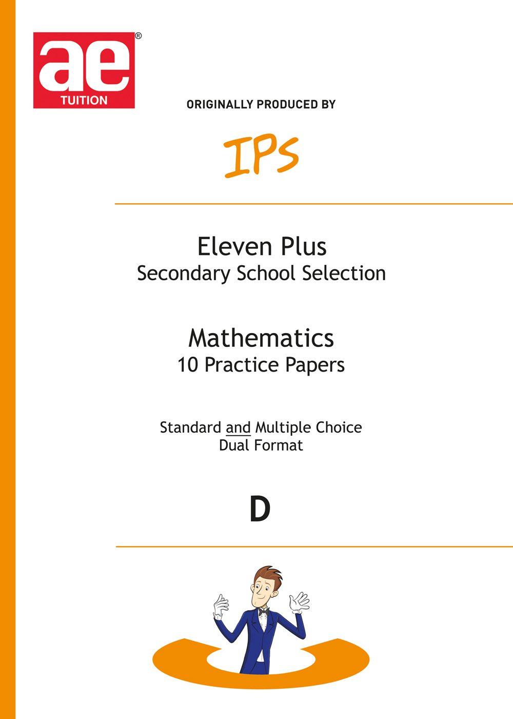 11 Plus Mathematics - Book D - 10 shorter practice papers (DF)