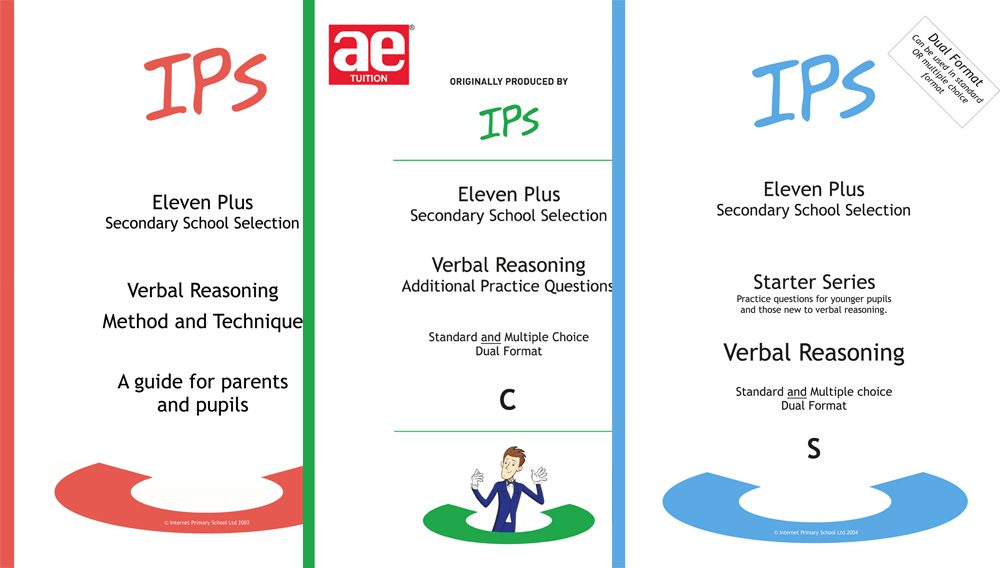 IPS 11 plus Verbal Reasoning Bundle 1