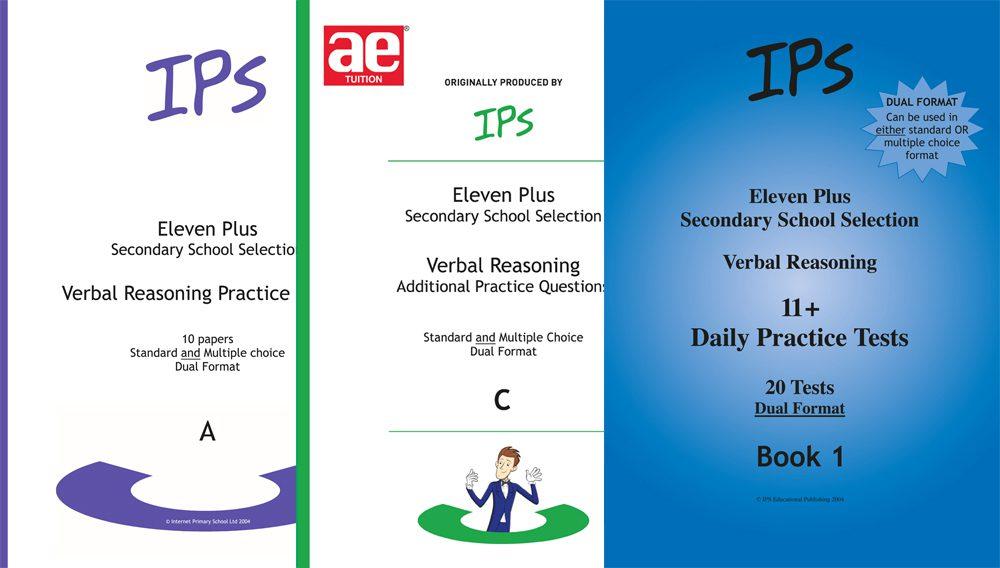 IPS 11 plus Verbal Reasoning Bundle 2