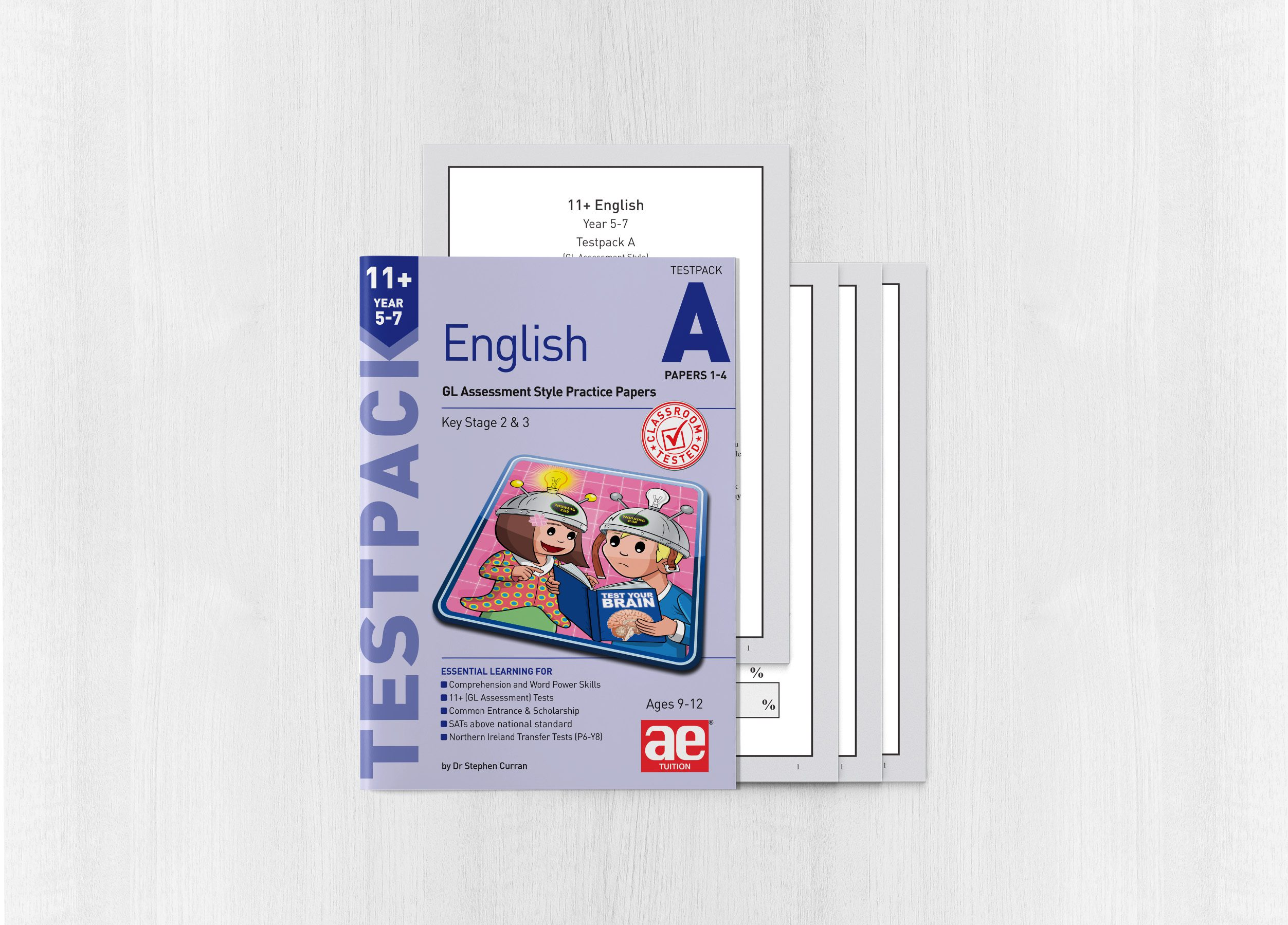 11+ English Year 5-7 Testpack A Papers 1-4 - AE Publications