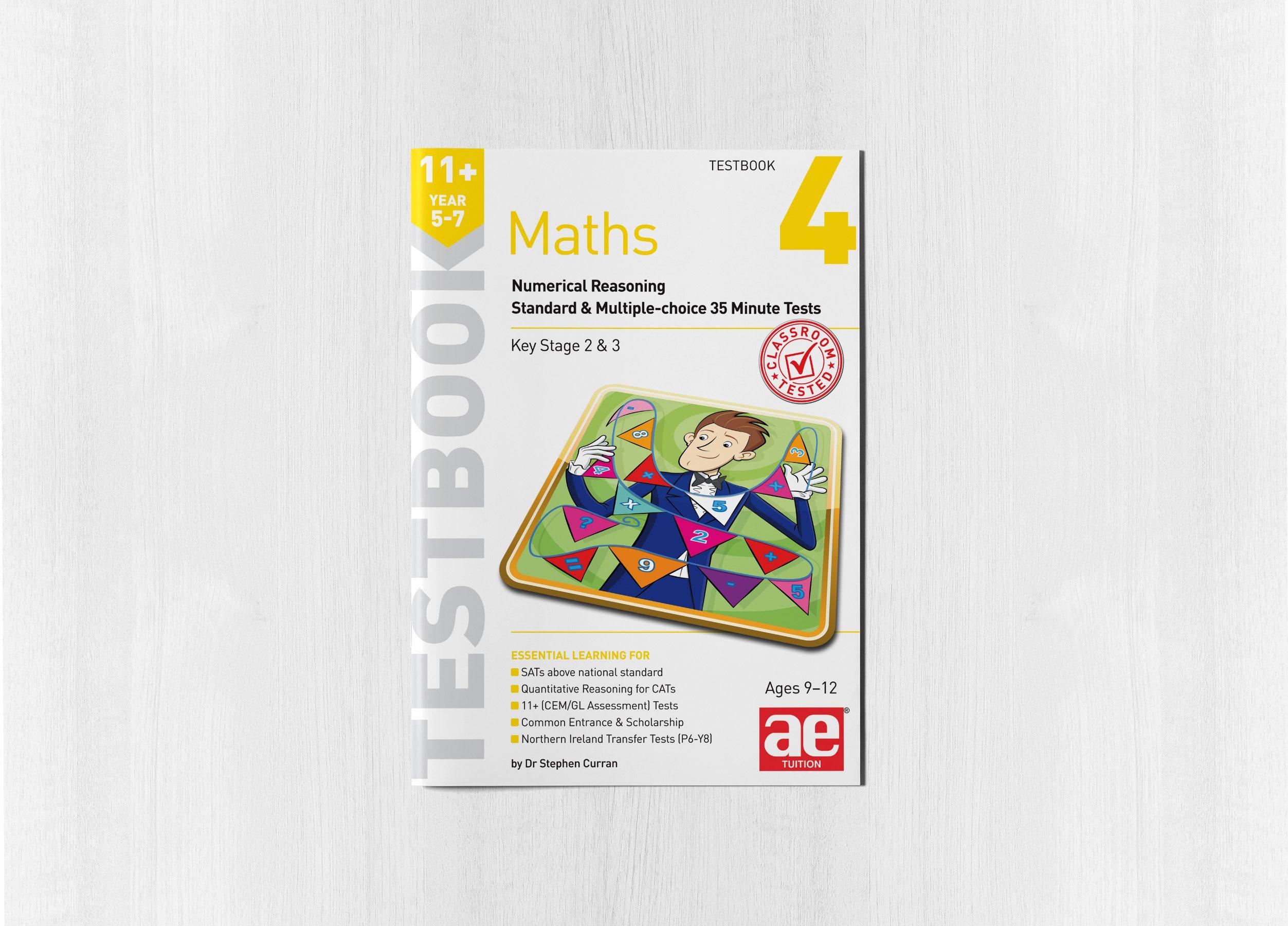 Maths Year 5-7 Testbook 4