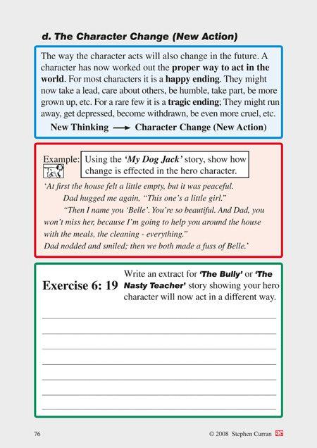 aep creative writing workbooks