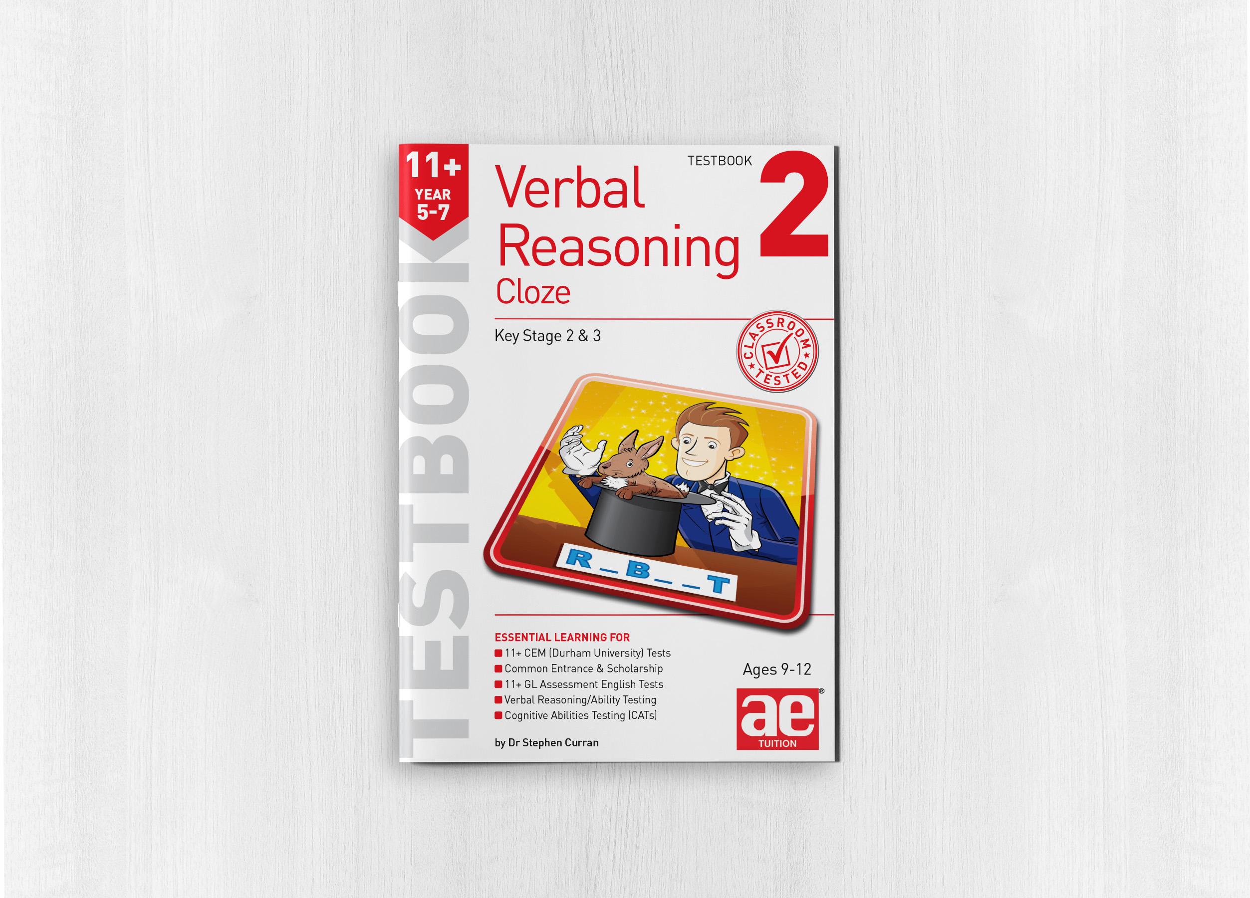 11+ Verbal Reasoning Year 5-7 Cloze Testbook 2 - AE Publications