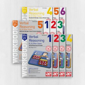 11+ Verbal Reasoning Year 5-7 GL & Other Styles Bundle