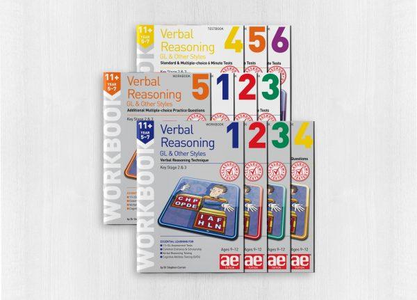 11+ Verbal Reasoning Year 5-7 GL & Other Styles Bundle