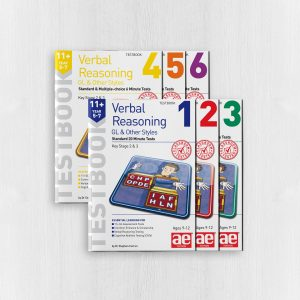 11+ Verbal Reasoning Year 5-7 GL & Other Styles Testbook Bundle
