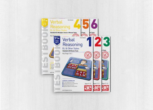 11+ Verbal Reasoning Year 5-7 GL & Other Styles Testbook Bundle